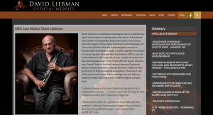 Saxophonist and educator Dave Liebman's site features Dave's inspiring articles and insights.