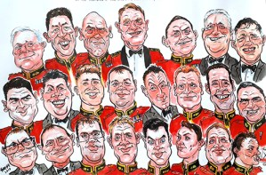 Corporate Events Caricaturist South Wales