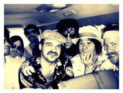 YRR in a Mexican Cab, Cozumel, 2010