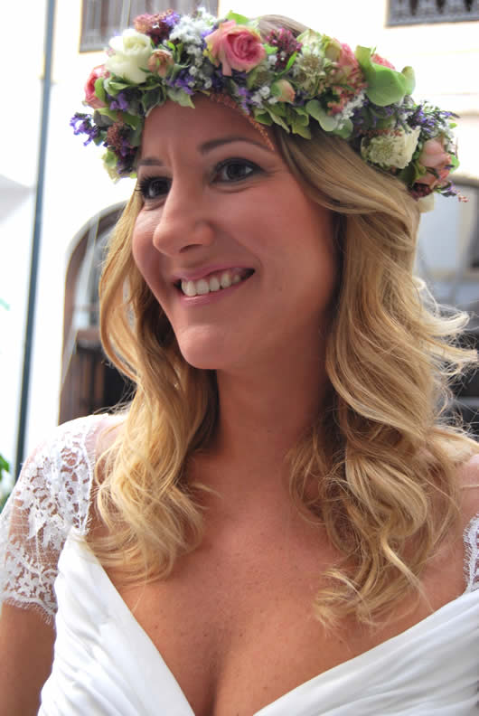 peinados para novias en Córdoba