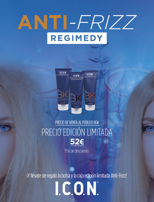 productos para pelo encrespado anti-frizz ICON