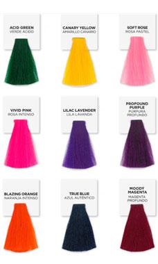 colores fantasia para el cabello Playful Brights