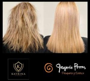 Lacticoplastia tratamiento para cabello en Gregorio Porras peluquería