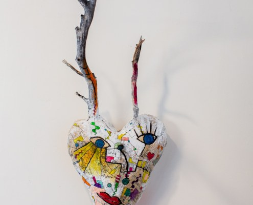 heart of mountains collaboration sculpture by greg and jude beylerian
