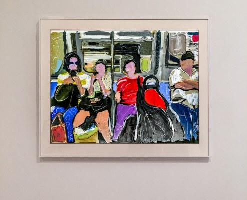 subway ride contemporary art