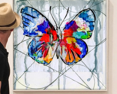 the butterfly effect art