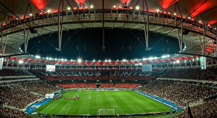 Maracanã lotado com a torcida do Flamengo