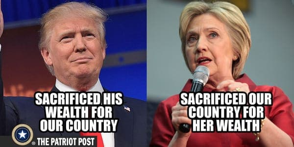 Comparing Donald Trump and Hillary Clinton