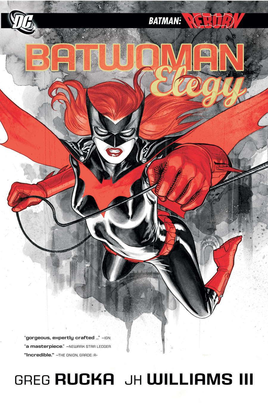 Batwoman: Elegy, JH Williams III, Greg  Rucka, Batwoman, Kate Kane
