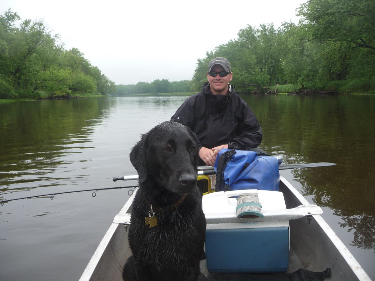 Trip report camping canoeing and fly fishing at st for Fly fishing canoe