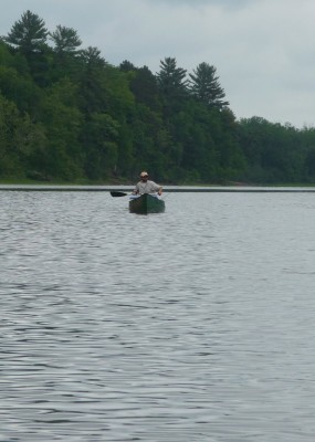 Paddling on the St. Croix River