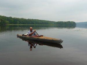 Bill Nedderman on the St. Croix River
