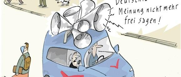 Jubiläumsausstellung 10. Triennale der Karikatur im Greizer Sommerpalais geöffnet