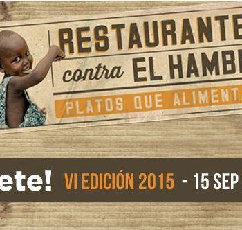 Se buscan chefs y restaurantes dispuestos a luchar contra la desnutrición infantil