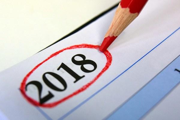 Calendari oficial de festes laborals 2018