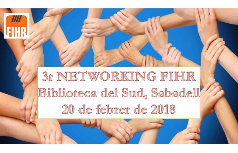 3a Jornada Networking de la FIHR
