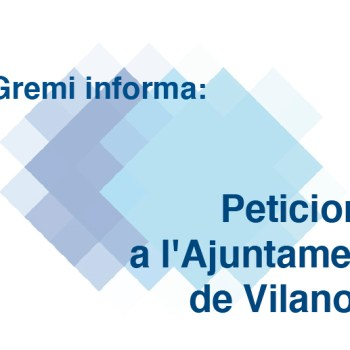 Peticions a l'Ajuntament de Vilanova