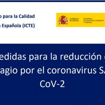 Guies per a la reducció del contagi pel coronavirus