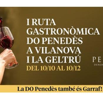 I Ruta Gastronòmica DO Penedès a Vilanova i la Geltrú