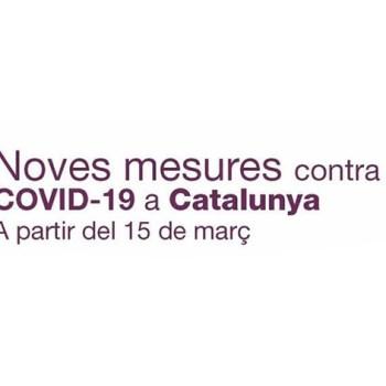 noves mesures restrictives vàlides fins 29 de març de 2021