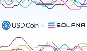 【快訊】USDC 已在公鏈 Solana 上發行,初始供應量 1000 萬