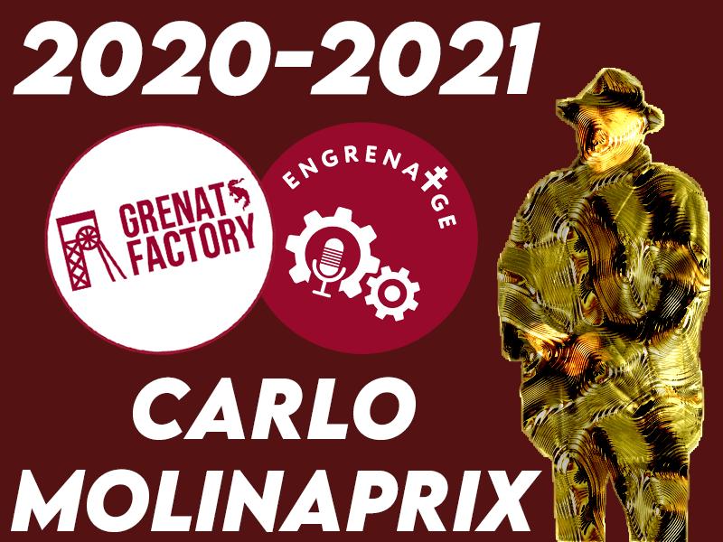 Votre cérémonie Carlo Molinaprix est de retour : voici l'édition 2020-2021