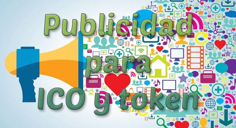 Publicidad para ICO y token