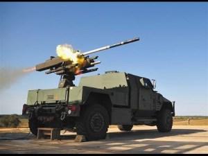 Rocket launching tank to illustrate Greno's ITAR registration