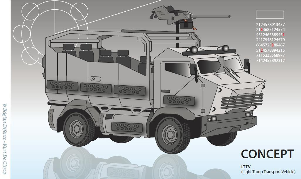 Investeren in de toekomst van onze Special Operations Forces: het Light Troop Transport Vehicle (LTTV)