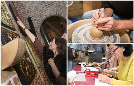 'Buren bij kunstenaars' op vrijdag 20, zaterdag 21 en zondag 22 oktober