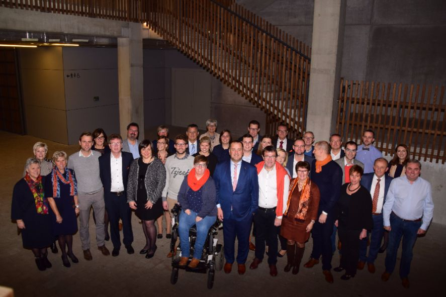 12 nieuwkomers op Waregemse CD&V lijst gemeenteraadsverkiezingen 2018