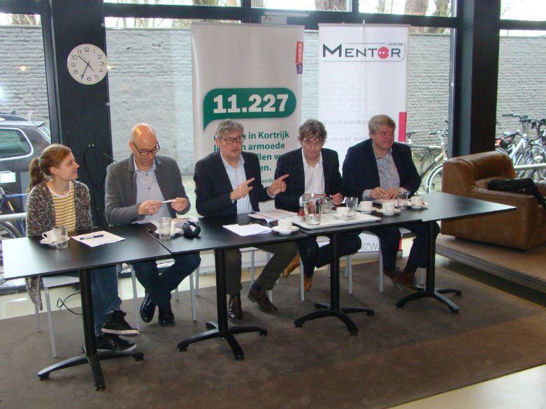 Horeca Vorming Vlaanderen, VDAB, onderwijsinstellingen en Mentor slaan de handen in elkaar voor Volksrestaurant VORK