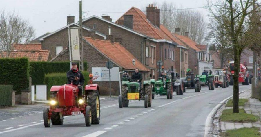 KLJ Heestert organiseert jaarlijkse Tractor- en Truckzegening