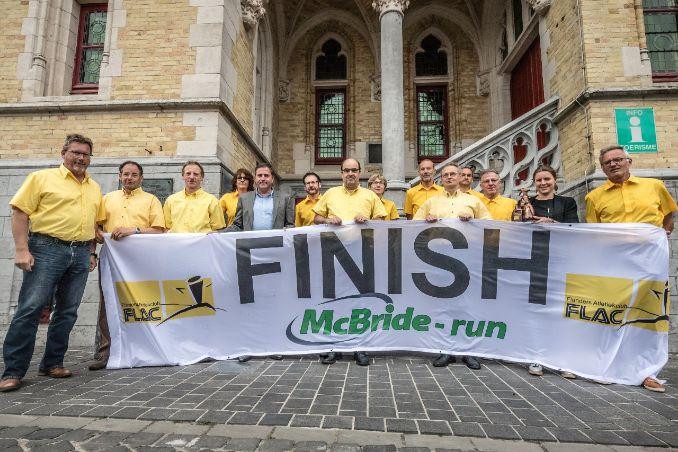 McBride-Run, 15de editie op zondag 3 juni 2018 Vlaanderens mooiste halve marathon !