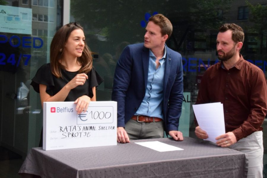 Reeds 14.000 euro ingezameld voor Sprotje