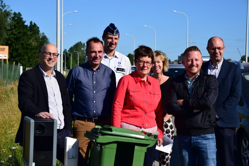 Tweede mobiele 'flitscamera' voor snelheidscontroles in Kortrijk, Kuurne en Lendelede is actief