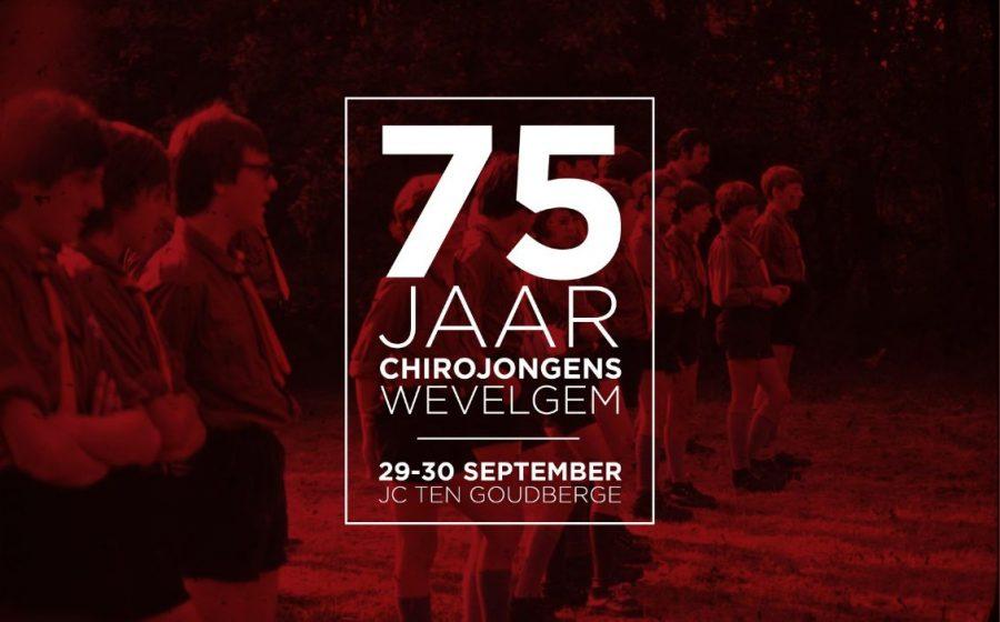 75 jaar Chirojongens Wevelgem
