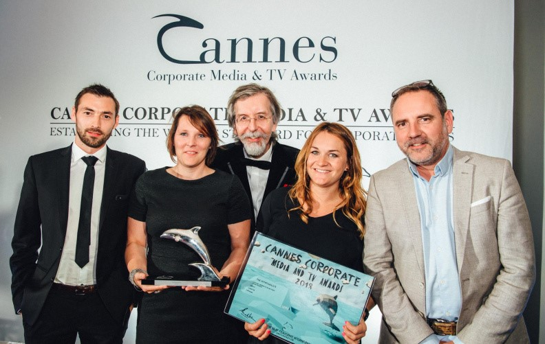 Agristo in de prijzen op Corporate Media & TV Awards