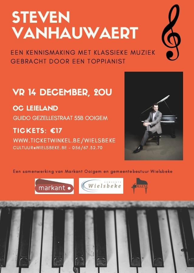 Pianoconcert Wielsbeke