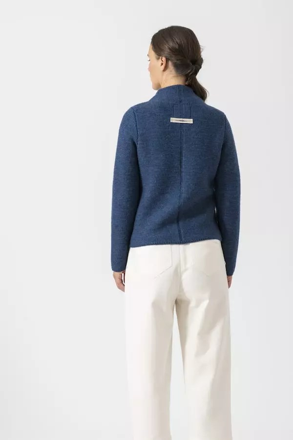 Strickjacke Elly uni von Grenzgang Slow Organic Fashion
