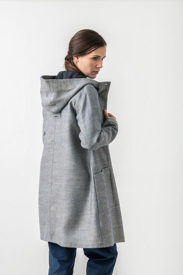 Mantel Petra von Grenz/gang Slow & Organic Fashion