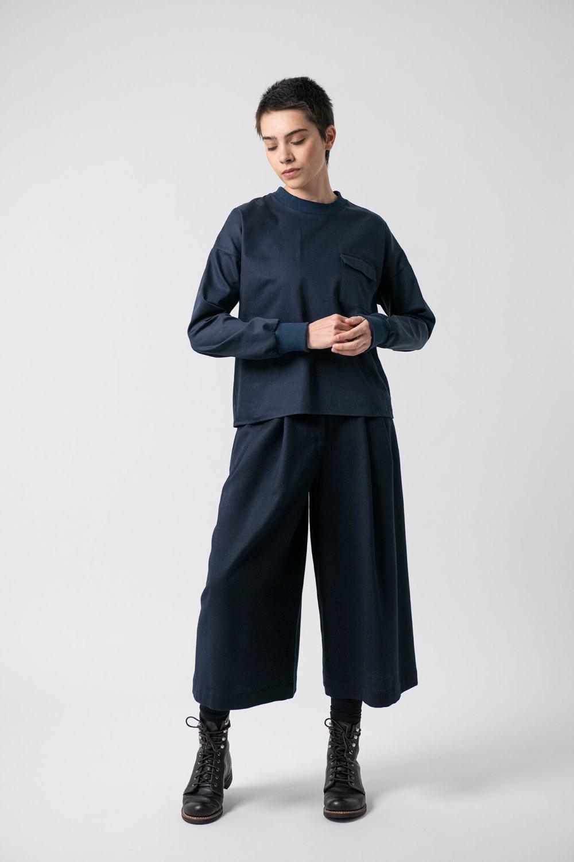 Hosenrock Merle Grenzgang Slow Organic Fashion