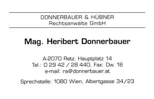 Donnerbauer & Hübner Rechtsanwälte