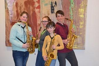 Alexandra Tree, Anja Schiner, Sabrina Spitaler, Philipp Stumpf