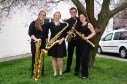 Saxophon-Quartett Saxophonics