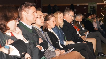 40. Neujahrskonzert der Waldviertler Grenzlandkapelle der Stadtgemeinde Hardegg iam 5. Jänner 2020 in Langau