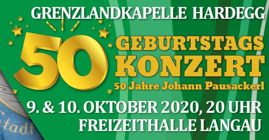 50 Jahre Johann Pausackerl - Geburtstagskonzert
