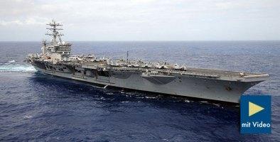Symbolbild: Der Navy-Flugzeugträger USS Nimitz. Copyright: US Navy