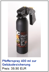 pfefferspray gross