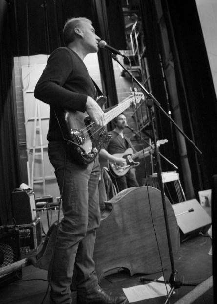 Conor McCreanor, bass photo by Rebecca Kemp